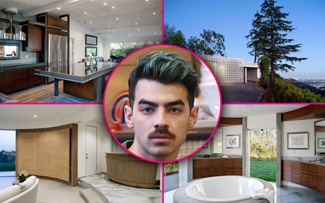 Joe Jonas Leases Hollywood Hills Mansion