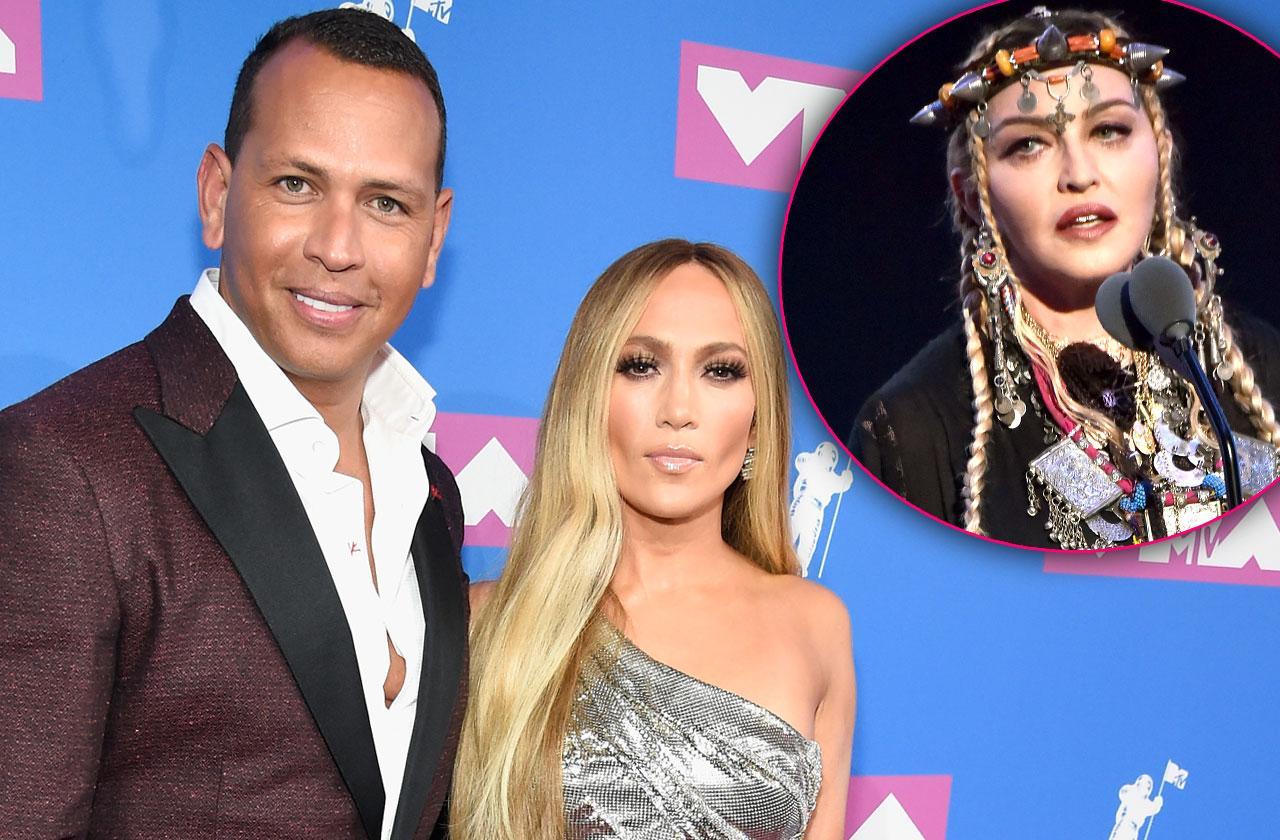 //Jennifer Lopez Not Happy Alex –Rodriguez Madonna VMA pp
