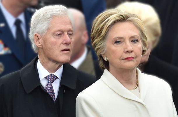 //donald trump inauguration hillary clinton body language pp