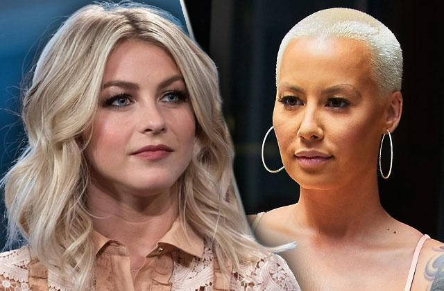 DWTS Feud Amber Rose Julianne Hough Body Shaming Apology