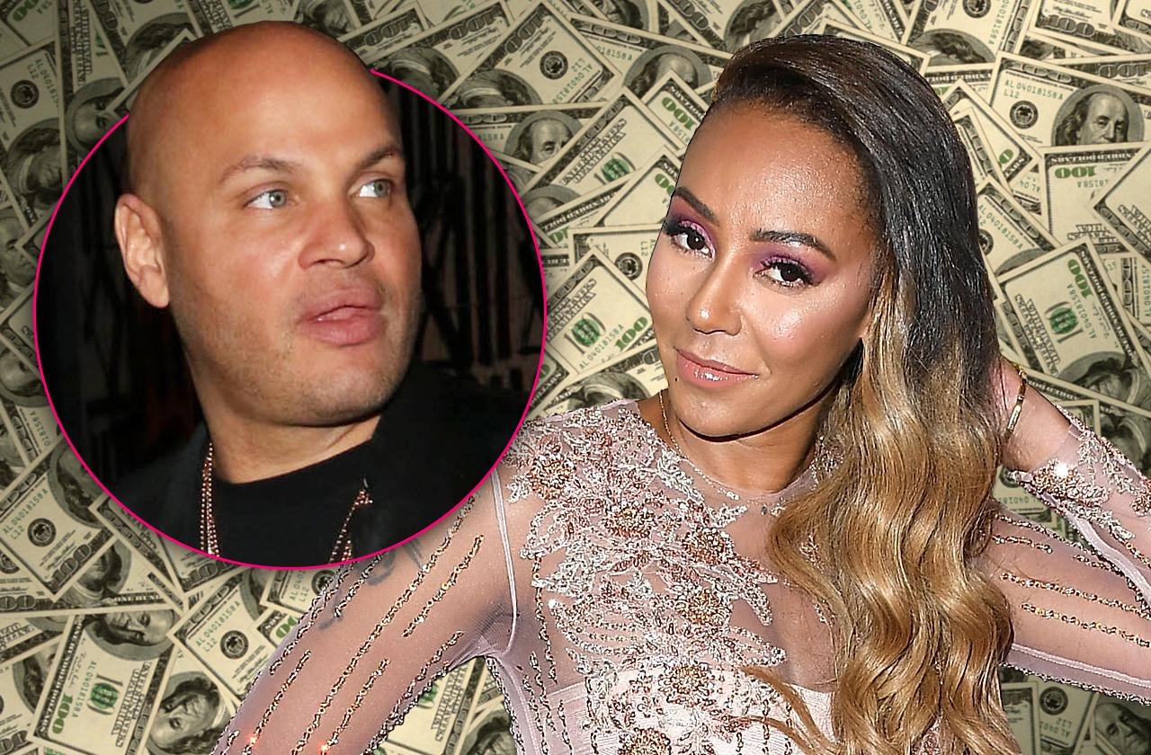 mel b stole cash emptied thousands dollars bitter ex stephen belafonte claims