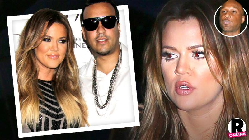 //khloe kardashian wont get back together lamar odom break up french montana pp sl