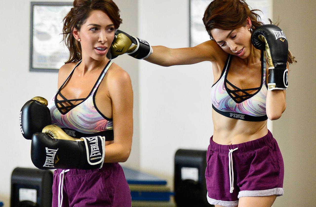Farrah Abraham Boxing Bra Shorts
