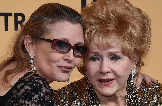 //Carrie Fisher Debbie Reynolds Death Predicted pp