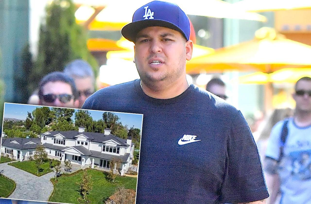 Rob Kardashian House Hunting