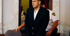 Aaron Hernandez Accused Homicide Fell Asleep In Police Station