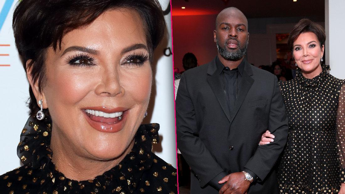 Kris Jenner And Corey Gamble Attend MS Gala
