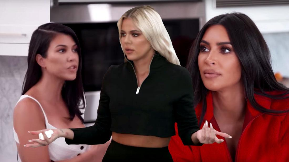 Kardashian Sisters Clash On Sneak Peek Of 'KUTWK' New Season
