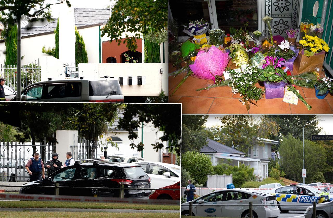 New Zealand Mosque Shooting 49 Dead Photos