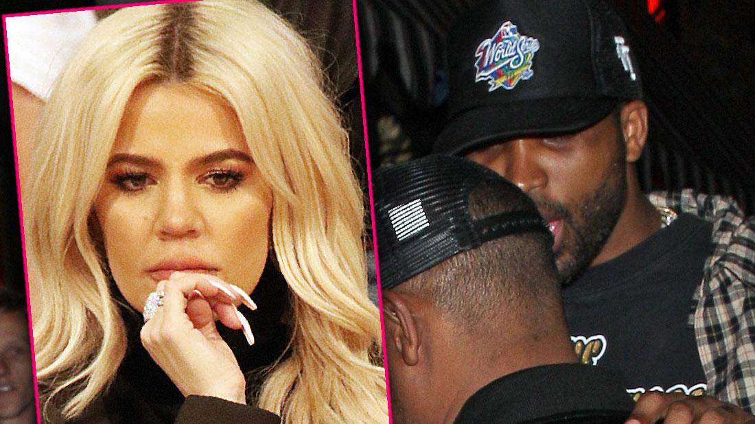 Tristan Thompson Leaves Nightclub After Khloe Cheating Scandal