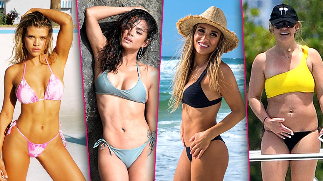 July 4th Fireworks Celebs Strip Down For America's B-day Party