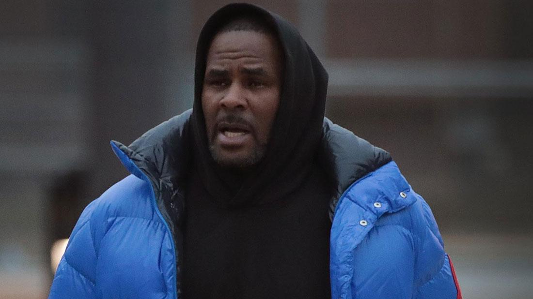 R. Kelly when he arrives to New York