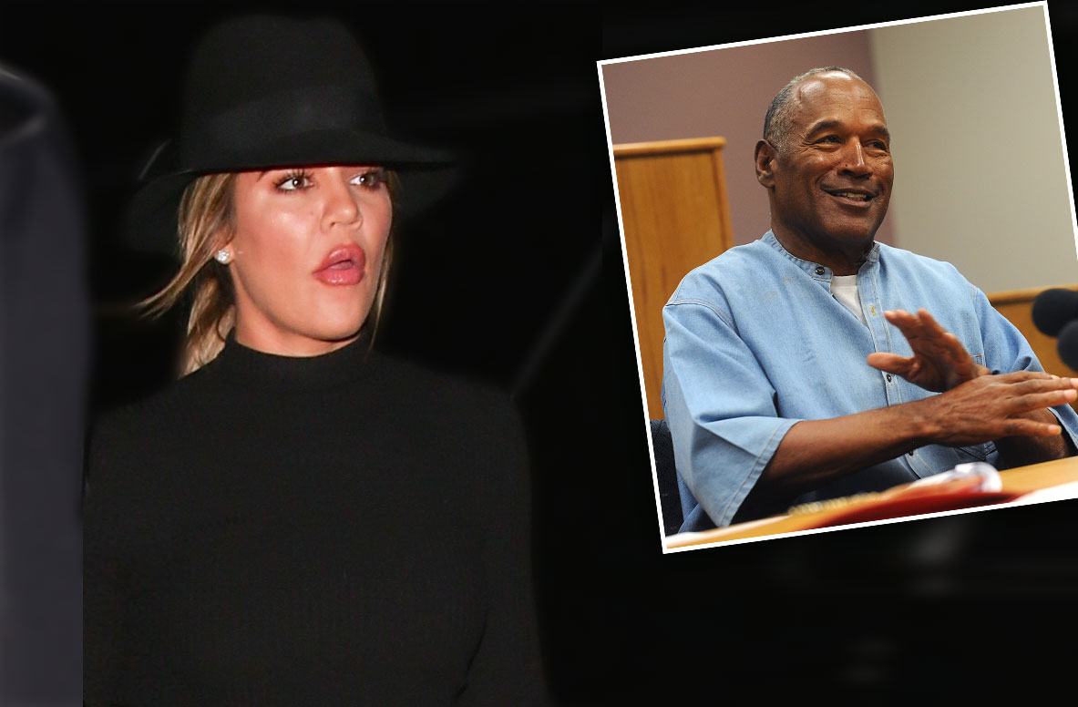 //Khloe kardashian responds oj simpson dad comments pp