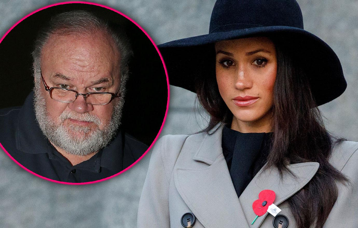 Meghan Markle's Disgraced Dad Thomas Another Interview No Father's Day Card