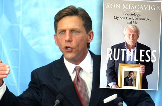 //david miscavige sues father ron scientology book ruthless pp
