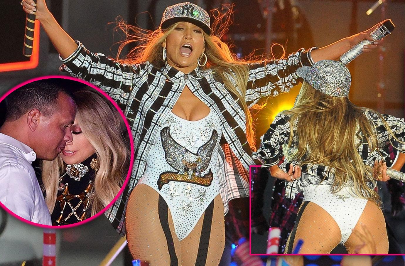 Jennifer Lopez Heats-Up New York With Alex Rodriguez