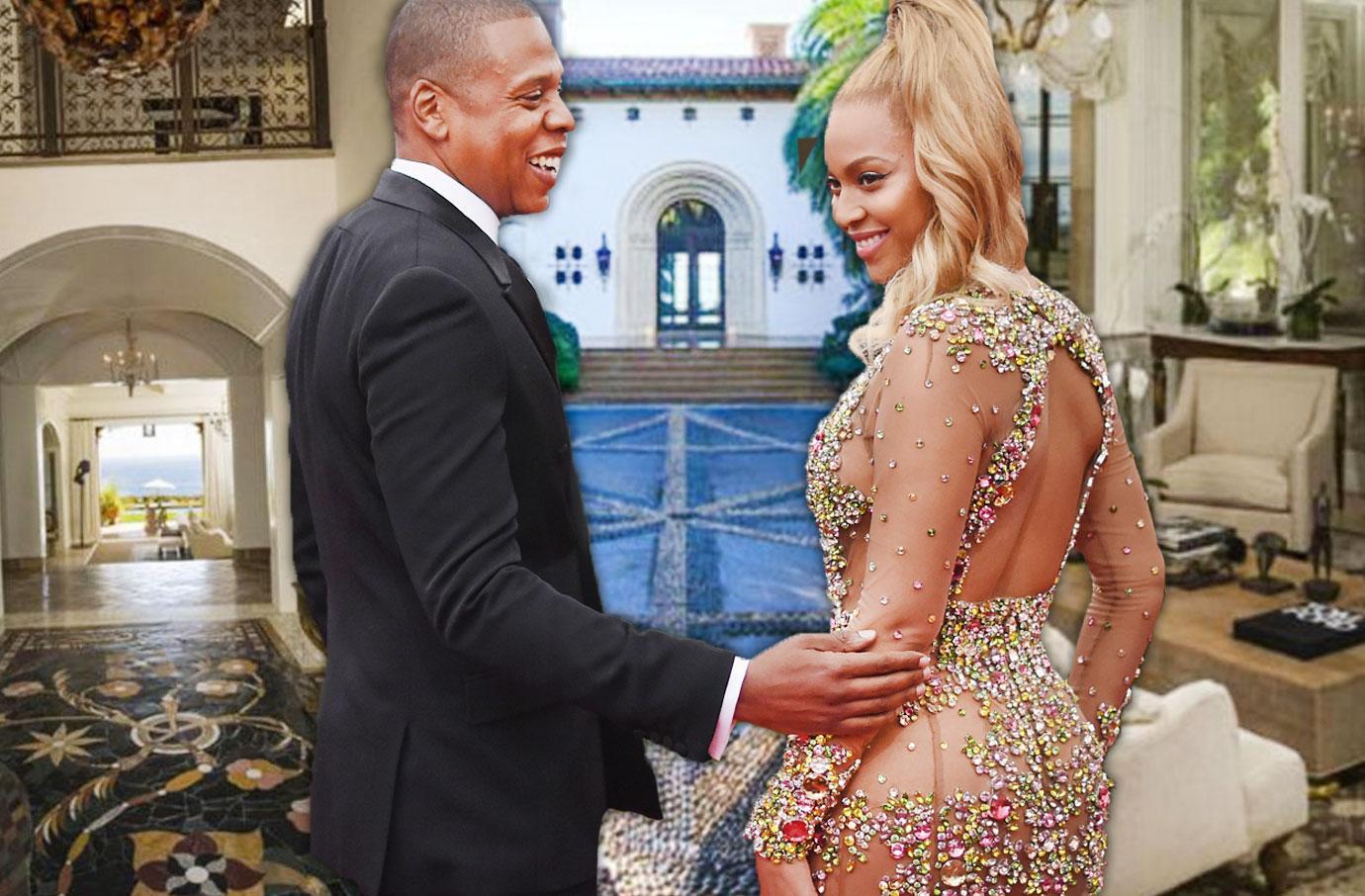 Beyonce Jay Z Twins Home Hospital Malibu