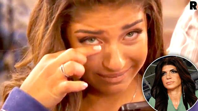 Teresa Giudice Calls Prison Gia Giudice Crying