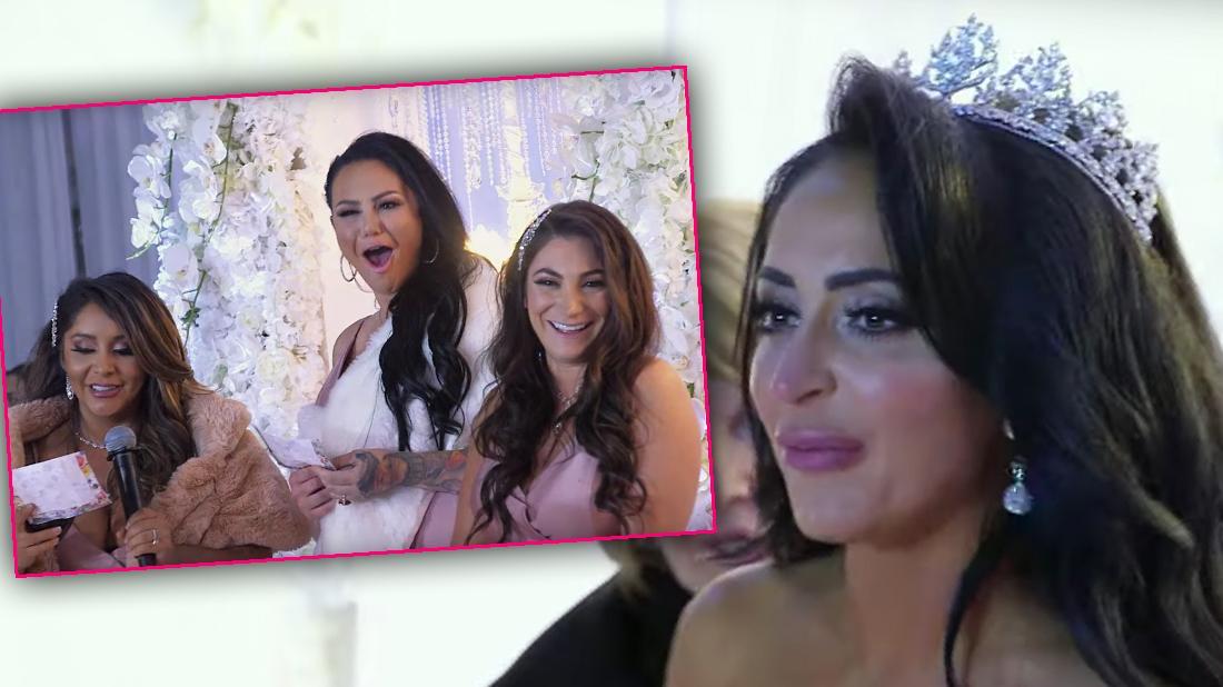 Jersey Shore Star Angelina Pivarnick Cries At Wedding