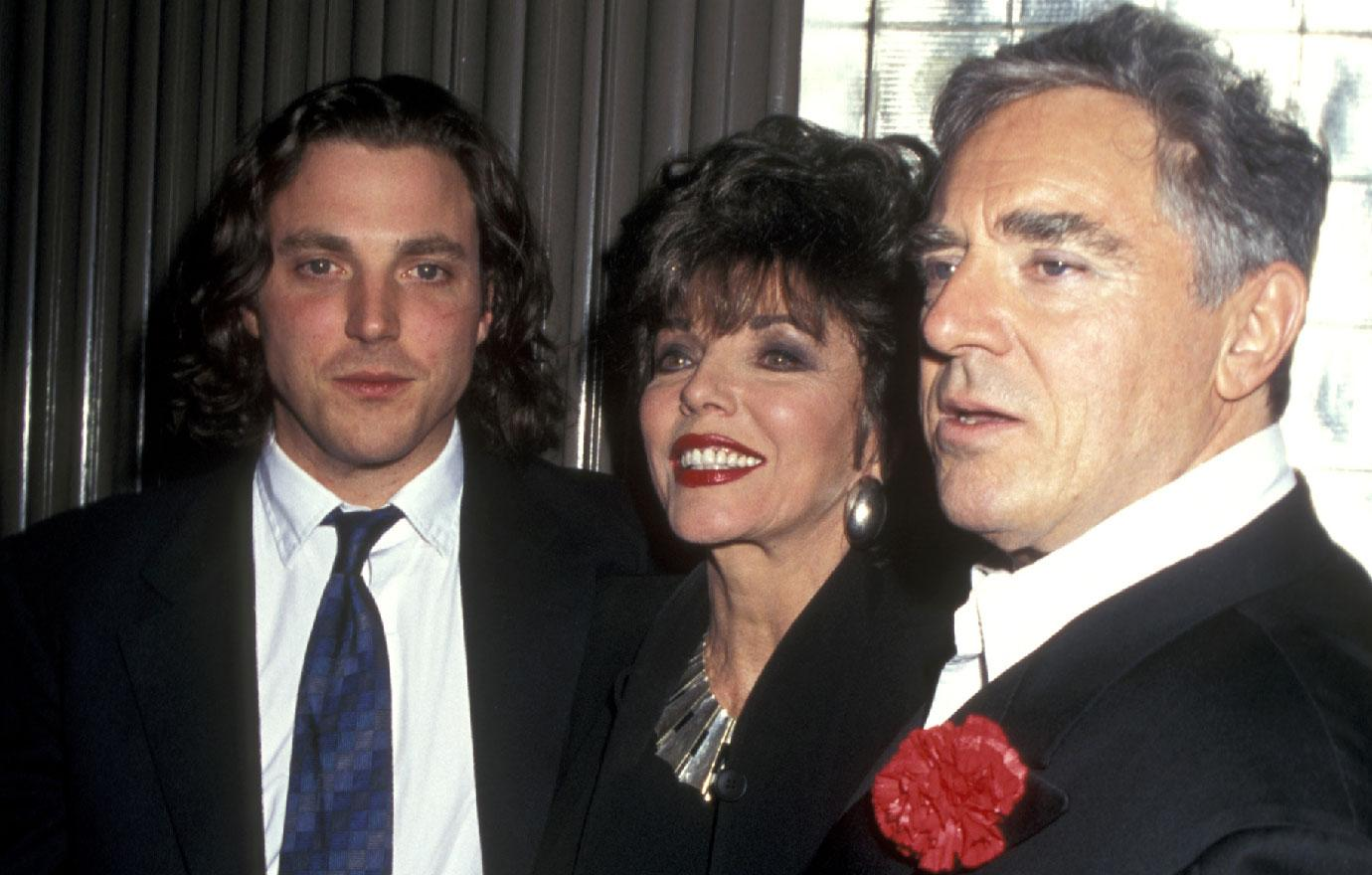 Joan Collins Son Says His Dad Anthony Newley A Pedophile