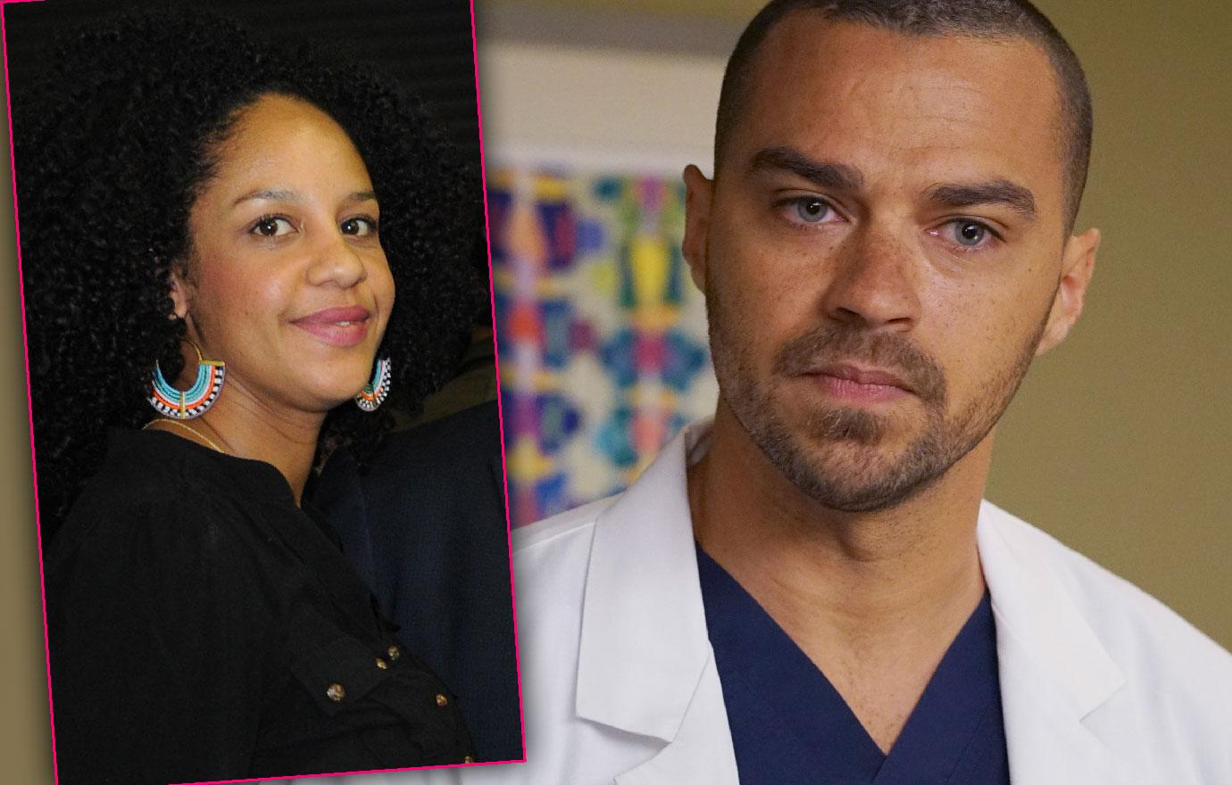 Greys Anatomy Star Jesse Williams Fights With Ex-Wife