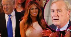 //chris matthews caught checking out donald trump wife supermodel video pp