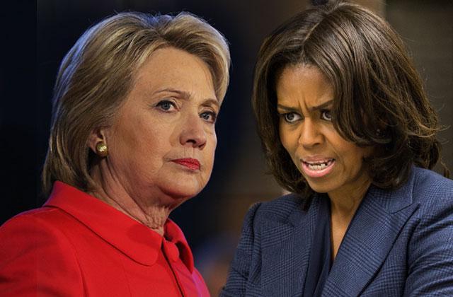 Hillary Clinton Michelle Obama Secret Feud