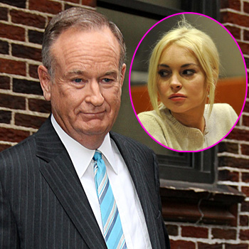 //bill oreilly defends lindsay