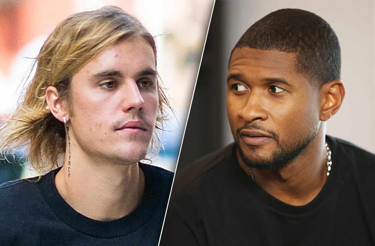 Justin Bieber Worried Usher Legal Problems