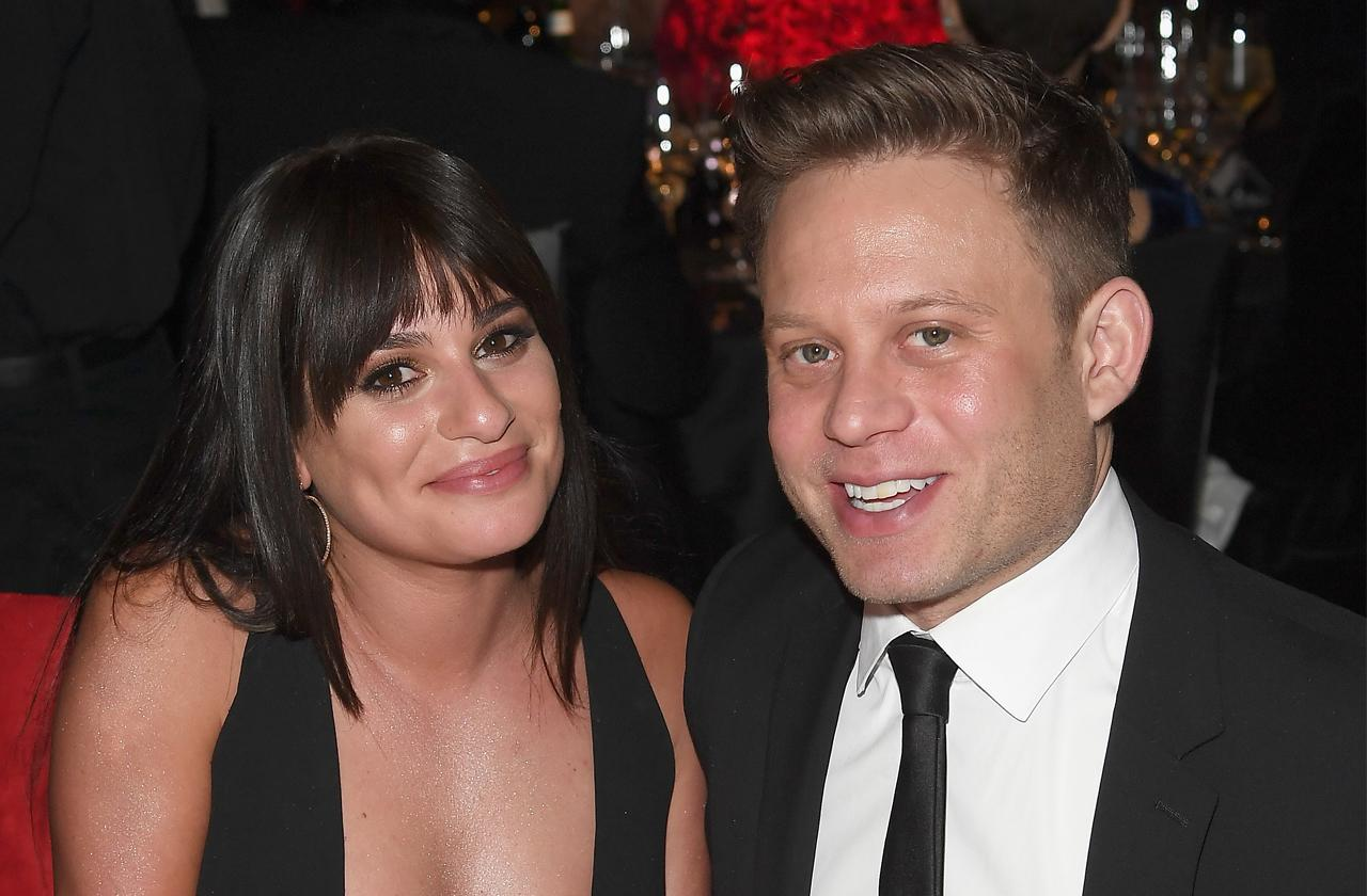 //lea michele gets engaged pp