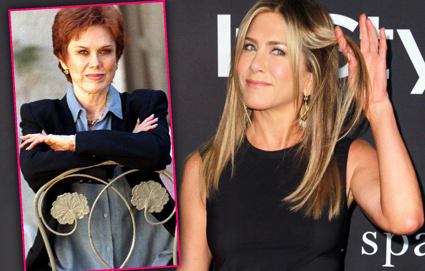 Jennifer Aniston Talks Feud With Late Mom Nancy Dow