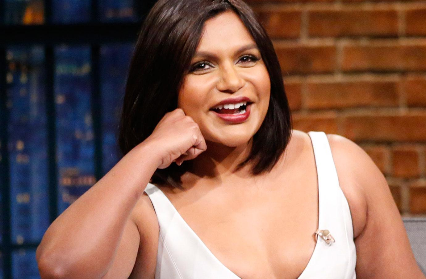 Mindy Kaling Pregnant Rumors Baby Dad