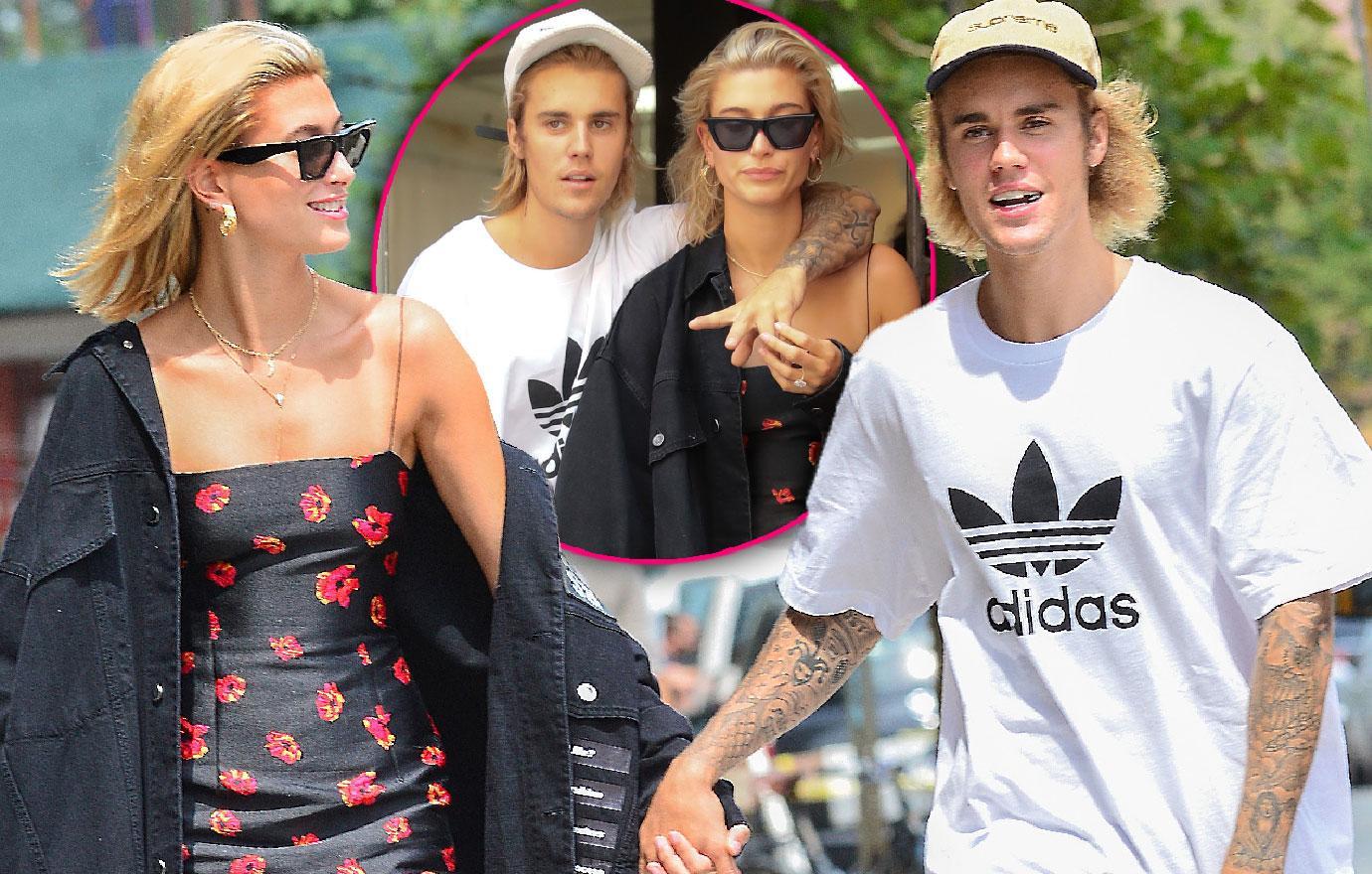 Justin Bieber And Hailey Baldwin Go On New York Date Night