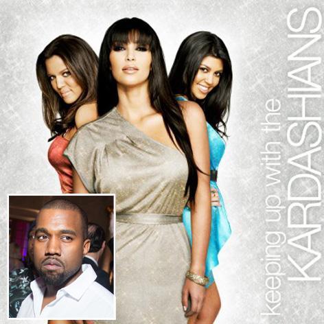 //kanye west kim kardashian keeping up with the kardashians square