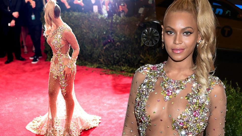 Beyonce Met Gala Outfit Change