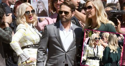 Tori Spelling & Cast Film 'Beverly Hills 90210' After Delays
