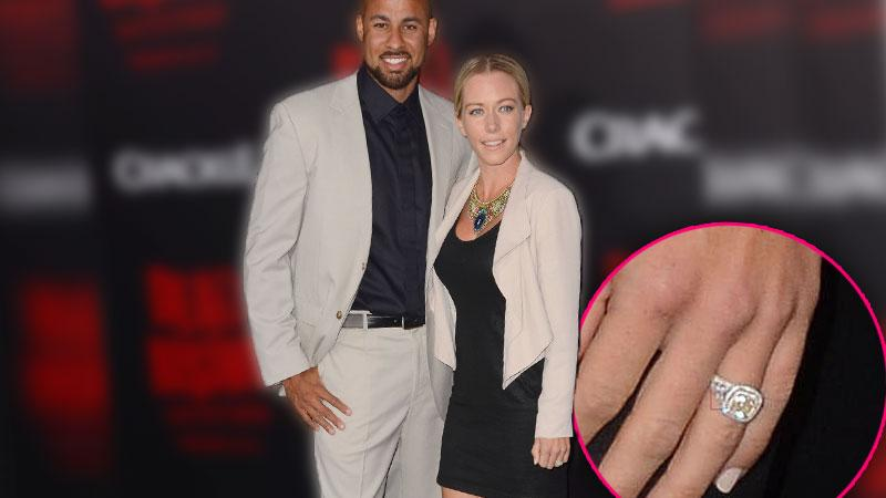 Kendra Wilkinson's New Diamond Ring