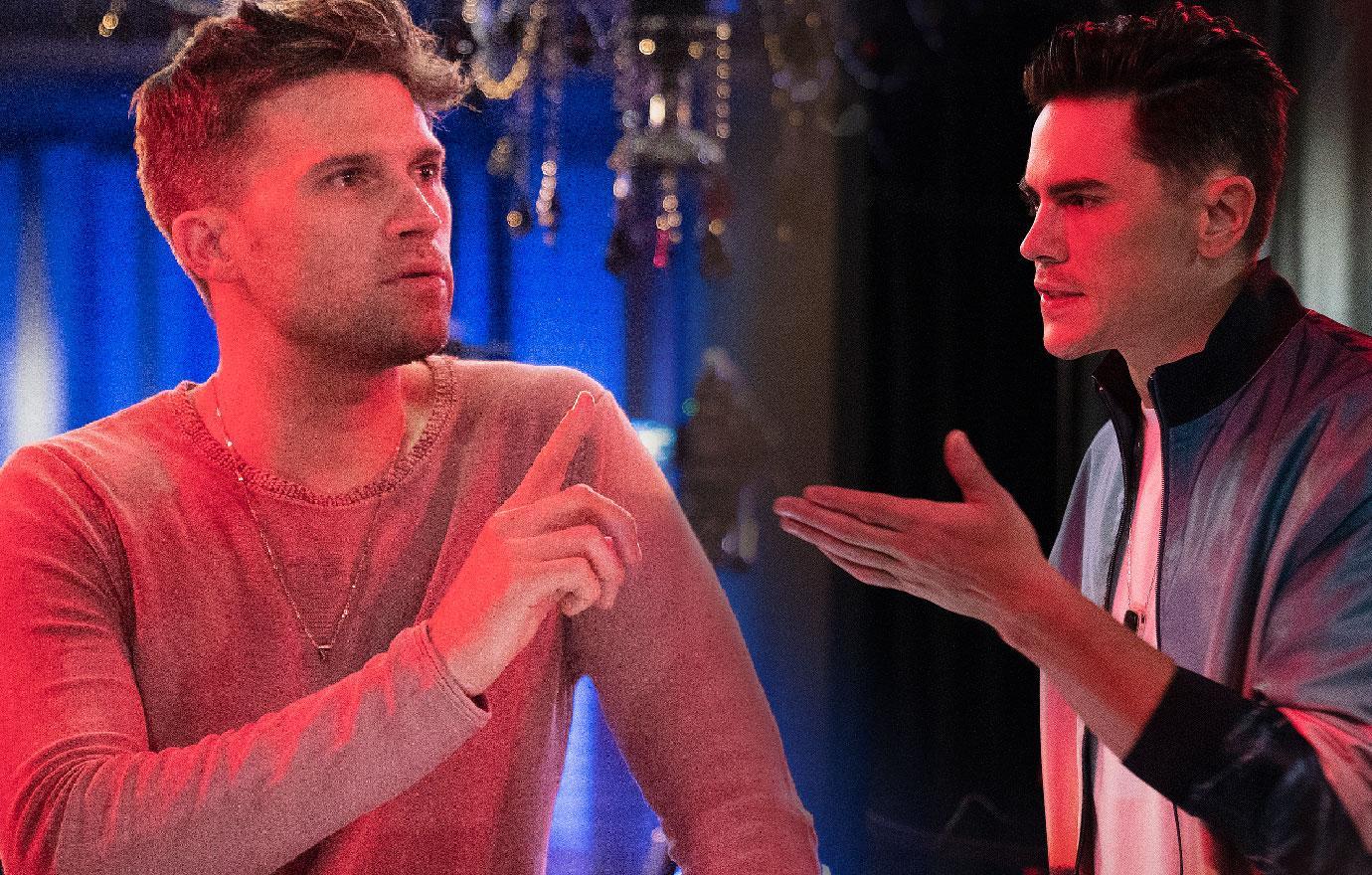 Vanderpump Rules Trailer Sparks Fly Between Tom Schwartz And Tom Sandoval