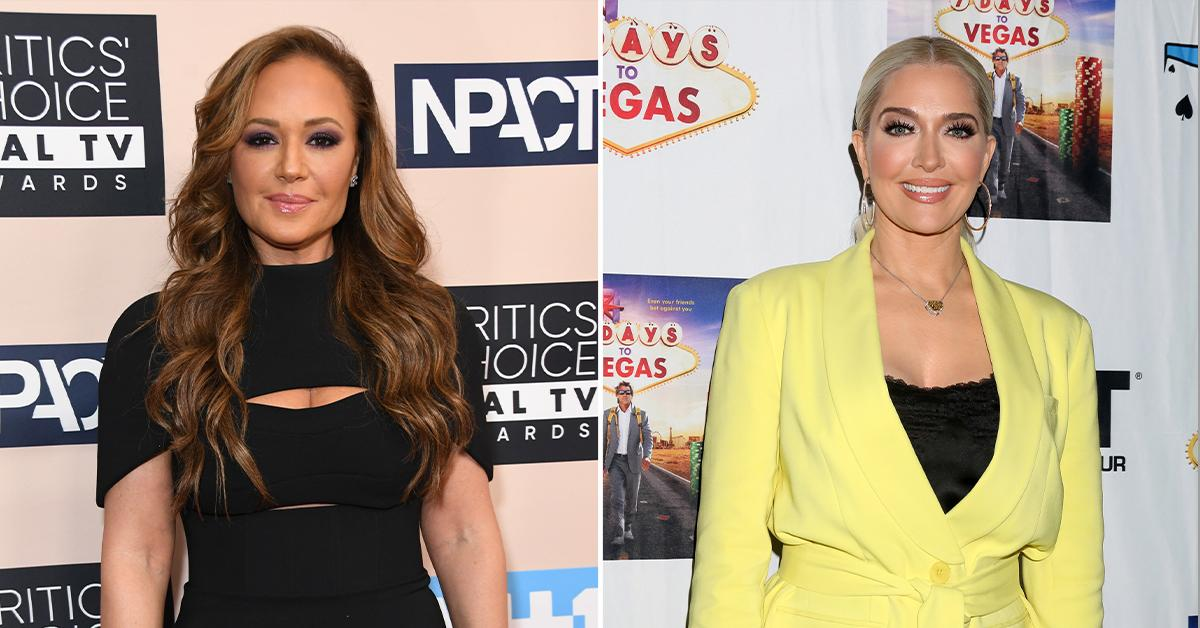 leah remini in talks to join real housewives beverly hills erika jayne pp