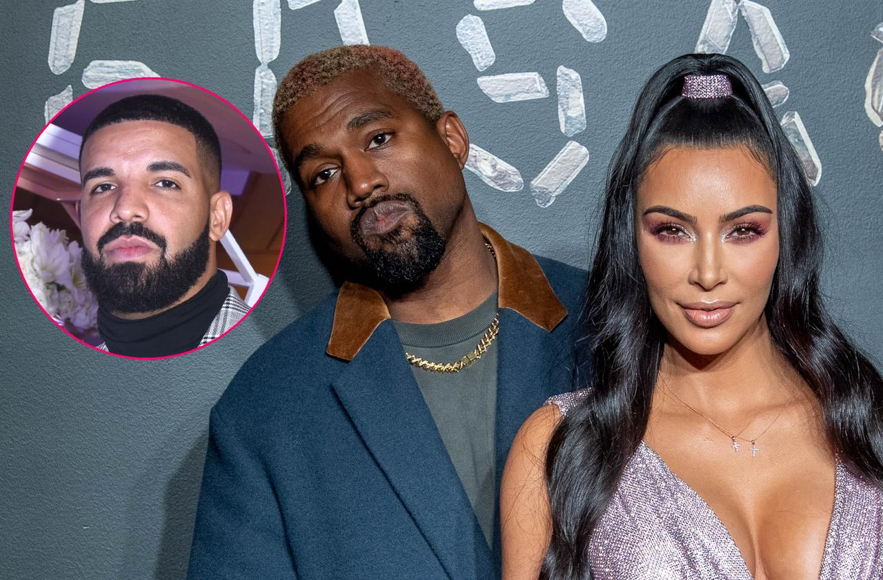 Kanye West In Twitter Threat To Drake Over Kim Kardashian