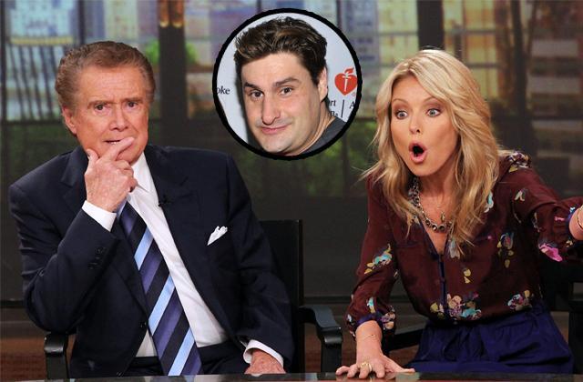 Kelly Ripa Avoids Regis Philbin At Party
