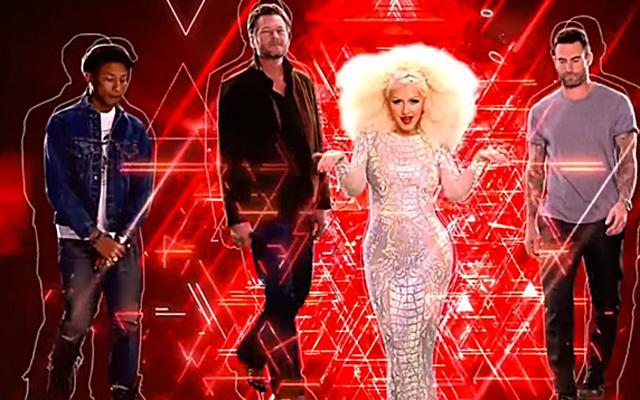 Christina Aguilera The Voice Promo