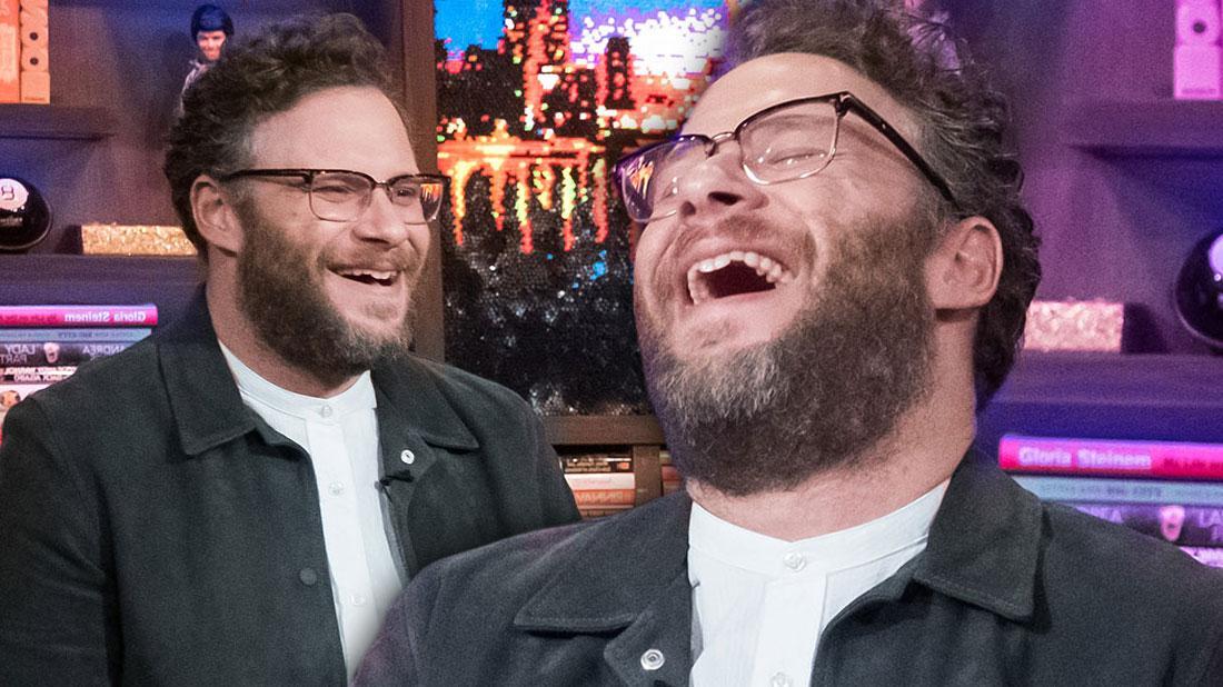 Seth Rogen Reveals Trademark 'Stoner' Laugh Is Fake!