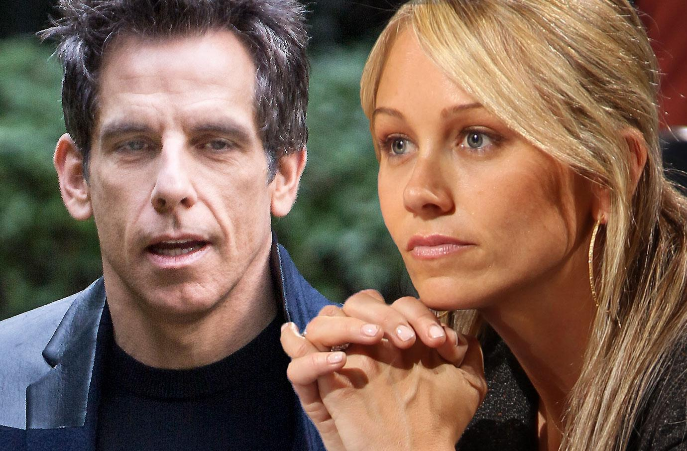 Ben stiller paranoia leads to divorce