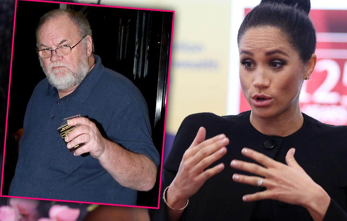 Meghan Markle Begs Dad To Stop Attacking Harry In Letter