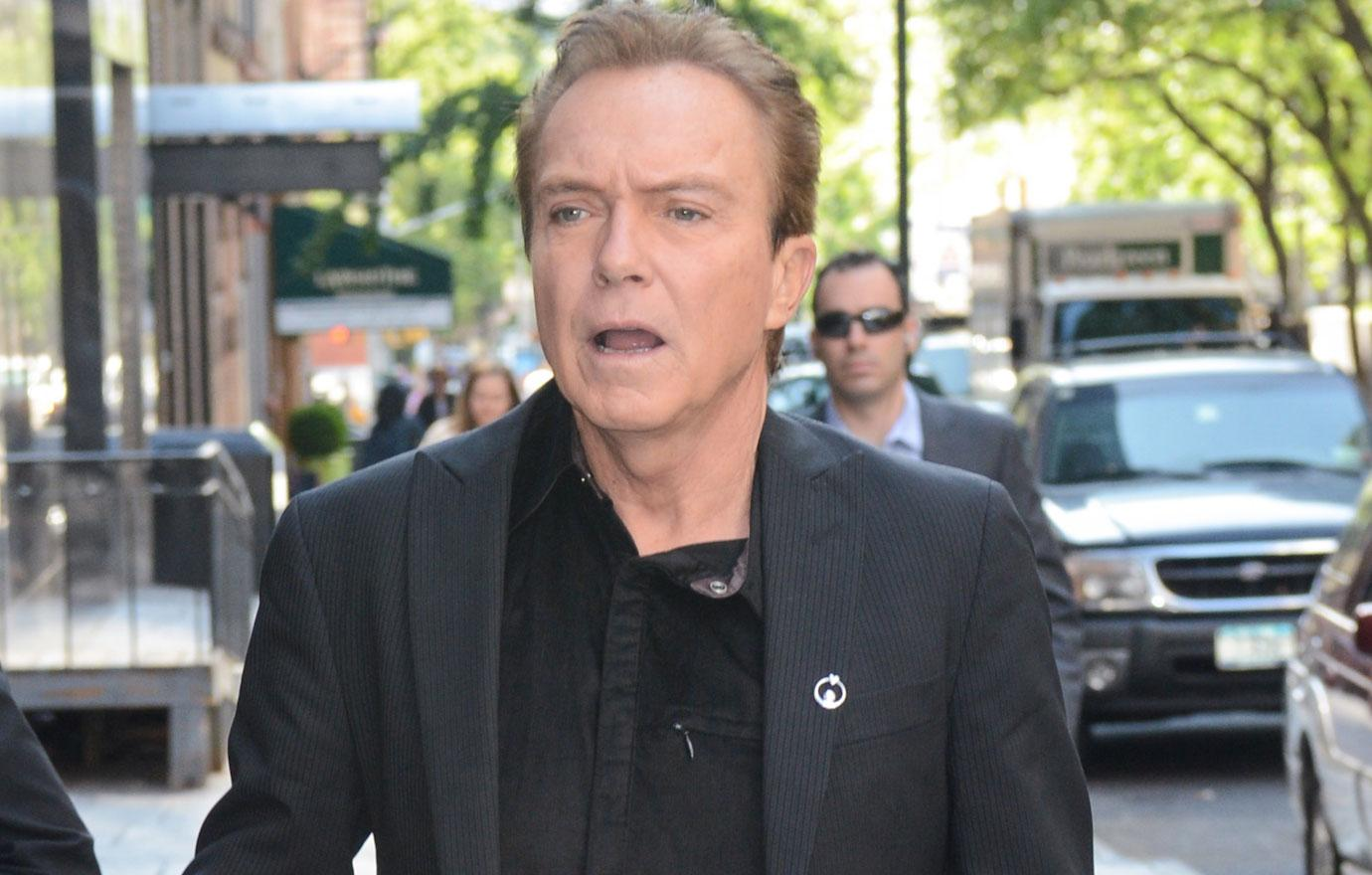 David Cassidy's Family Praying For Liver Donor