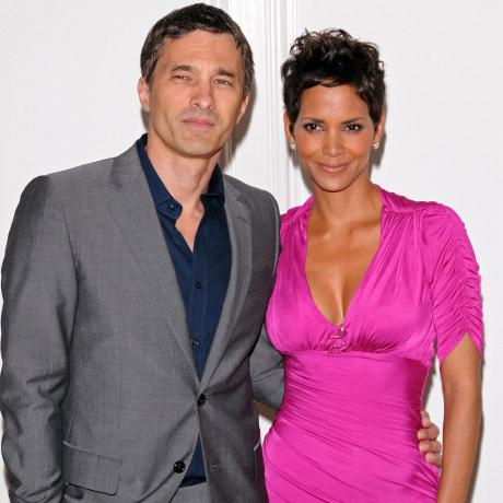 // olivier martinez and halle berry attend the gettyimages
