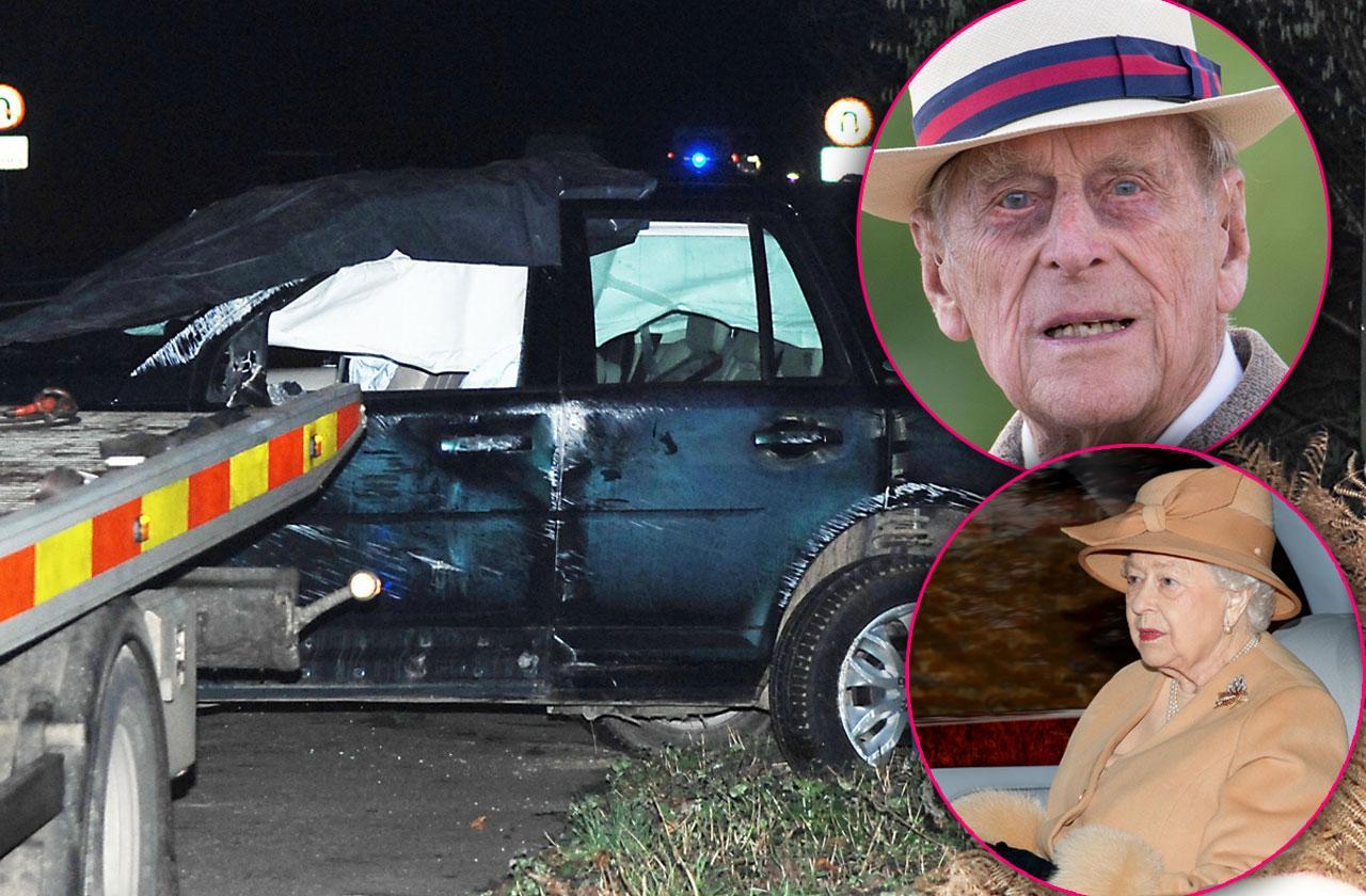 royal prince philip car accident horrifying close call Sandringham Estate