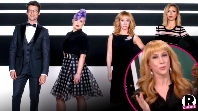 Kathy Griffin Backlash Fashion Police Debut Mess-Ups