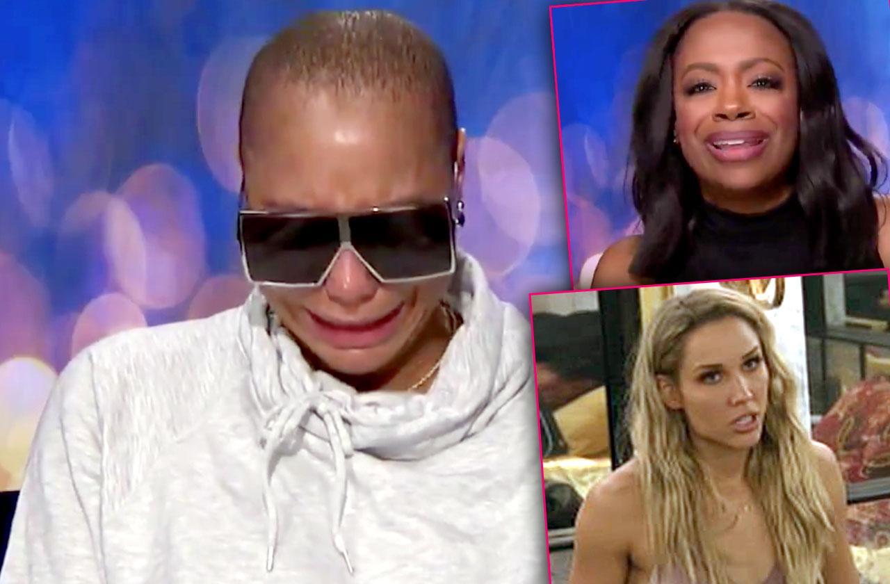 Tamar Braxton Cries Celebrity Big Brother Fight Kandi Burruss